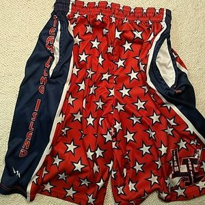 Other - Shorts Team Long Island Red White Blue Stars